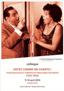 COM2a - Affiche Film Musical