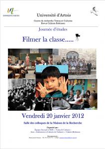 COM7a- Affiche Filmer la classe